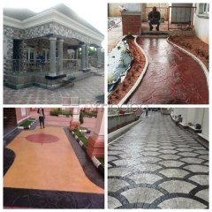 for sales and installation of stamp concrete floors (call -