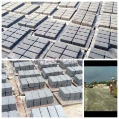 We Sell Interlocking Paving Stones For Road At Dave Tiles Limited (Cal