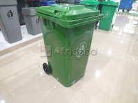 Ncr pattern wheeled waste bin 240litres + free delivery