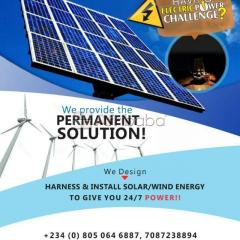 For Installation and Maintenance of Renewable Energy, Contact us Today