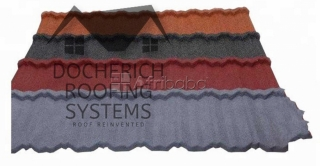Docherich roofing systems black shingle roofing tiles