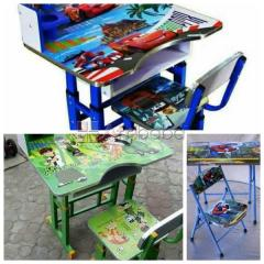 Children Disney Table And Chair