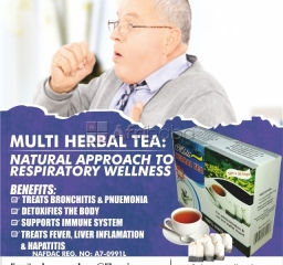 Detoxify your body system with multi herbal tea