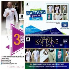Get your kaftans done in 3 days @ kachiee clothing (we also deliver)