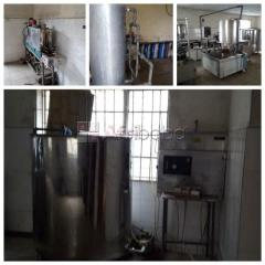For sale: complete water factory production equipment