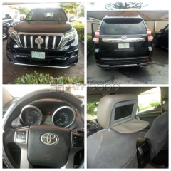 Toyota prado land cruiser 2012 ( registered )