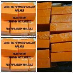 We Sell Carrot & Papaya Soap For Your Skin (Wholesale Available)