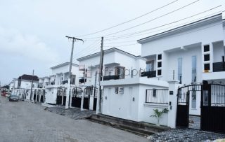 4 and 5 bedroom semi/fully detached duplexes at osapa london