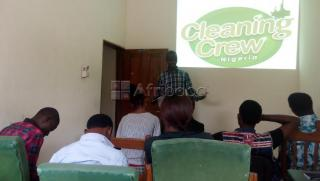 Cleaning and hygiene training
