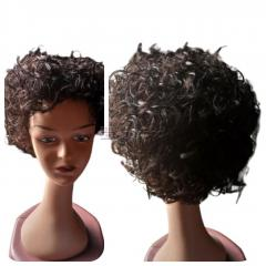 Lovely Premium Quality Fibre Curly Wig
