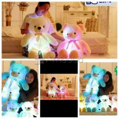 Get your luminous teddy bear (with glowing color changing led lights)