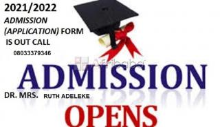 Lagos State School of Nursing, Igando   Session Admission Form