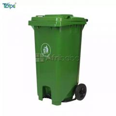 120 Liter Trash bin With Center Foot Pedal Available