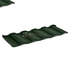 We sell the best stone coated roof tiles and gutter acessories