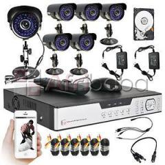 4channel cctv surveilance system