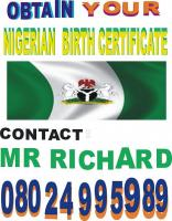 OBTAIN NIGERIA BIRTH CERTIFICATE