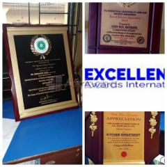 Wooden Plaque Award for companies ,schools etc available