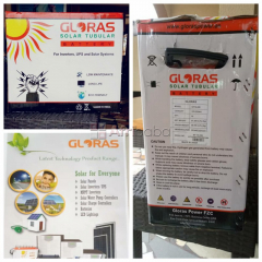 Get Your Gloras Solar Tubular Battery (Nationwide Delivery)
