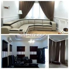 We handle your Home Interior Decor with quality fabrics & materials