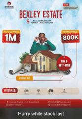Buy Your Plot of Land Today at Bexley Estate, Ipala Community, Epe