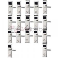 Xeeder electronic door lock with rfid card access control - 17 set