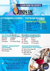 Professional training in ict, oil & gas and project management