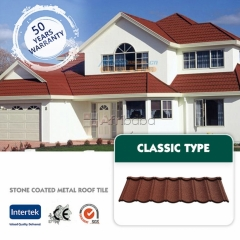 New zealand water gutter and stone coated roofing bond classic
