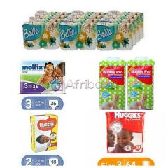 Order From Us Your Baby Diaper and Toiletries (Different Kinds & Sizes