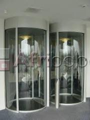 Man trap security booth for banks in nigeria