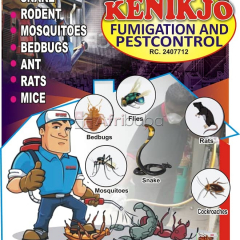 Fumigating Service at Kenikjo Fumigation and Pest Control