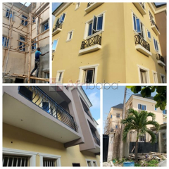 6Units of 3 Bedroom Flat with a Self-Contain Boy's quarters For Sale