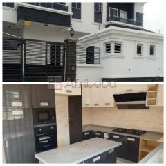 Own a 4bedroom semi-detached duplex for sale with a bq in oral estate