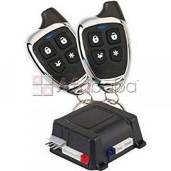 Car Alarm and Keyless Entry Security System with Two 4-Button Transmitters.