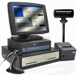 Retail pos complete kit system
