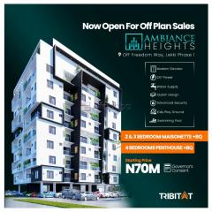 Ambiance heights lekki - 2 and 3 bedroom maisonette plus bq for sale