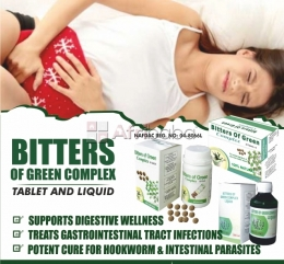 Normalize your menstrual flow with bitters of green  complex