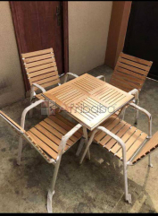 Set of 4 chairs and a table