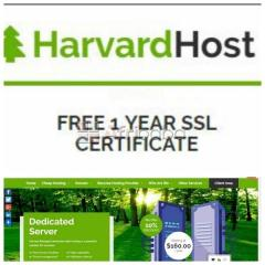 Web Hosting Services with Free Packages at Harvard Host