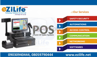 Point of sales installation in benin by ezilife