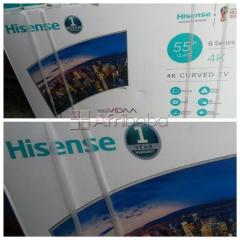 """Order your hisense 55""""inches uhd 4k smart internet curved tv"""
