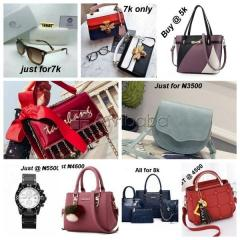 We sell Original Bags, Wristwatches and Sunglasses (Delivery Included)