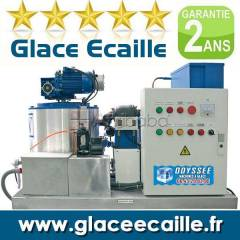 Flake ice machine for fishing industries and others #1