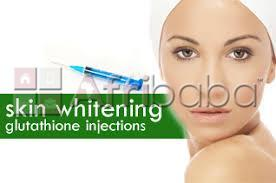 Skin lightening injection-pills and whitening creams