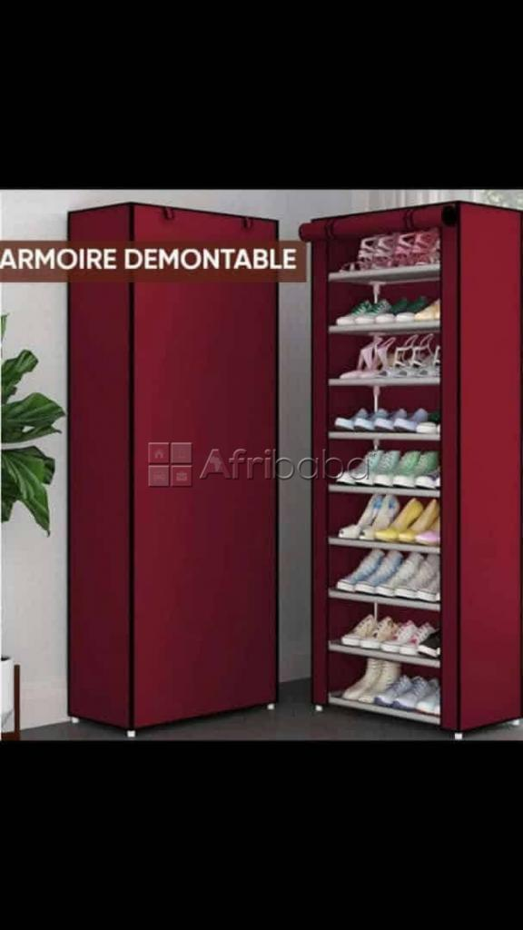 Armoire pour chaussures