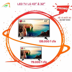 Tv 32 led et 43 led