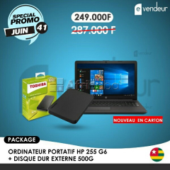 Ordinateur portatif hp 255 g6