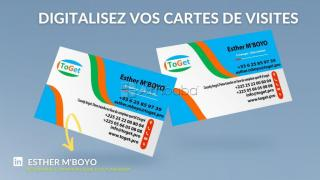 Digitalisez vos cartes de visites