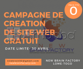 Creation site web gratuit