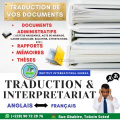 Traduction et interpretariat