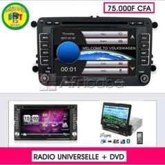 Radio universelle + dvd